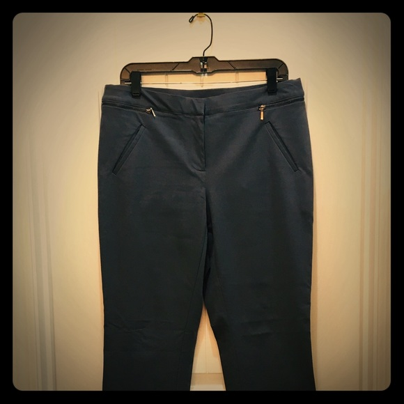 Alfani Pants - Women's Alfani Slacks in Size 10 Slate
